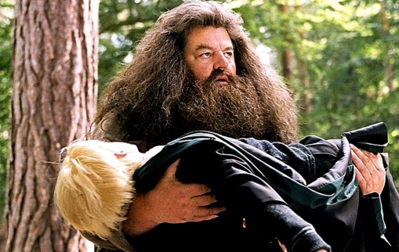 Robbie Coltrane choc! L'Hagrid di Harry Potter costretto sulla sedia a rotelle