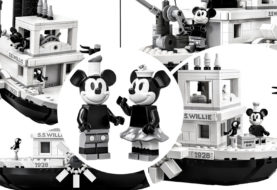 Disney LEGO, in arrivo lo Steamboat Willie e 18 nuove minifigures