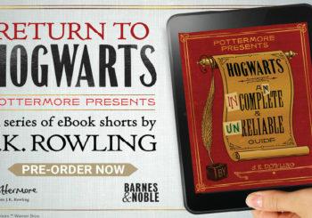 Pottermore Presents, ecco il Sussidiario di Harry Potter in formato ebook
